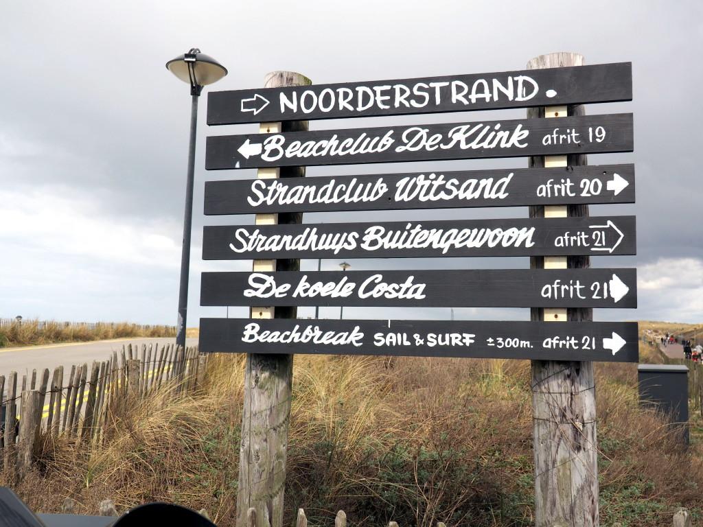 Noordwijk-Strand-Schild