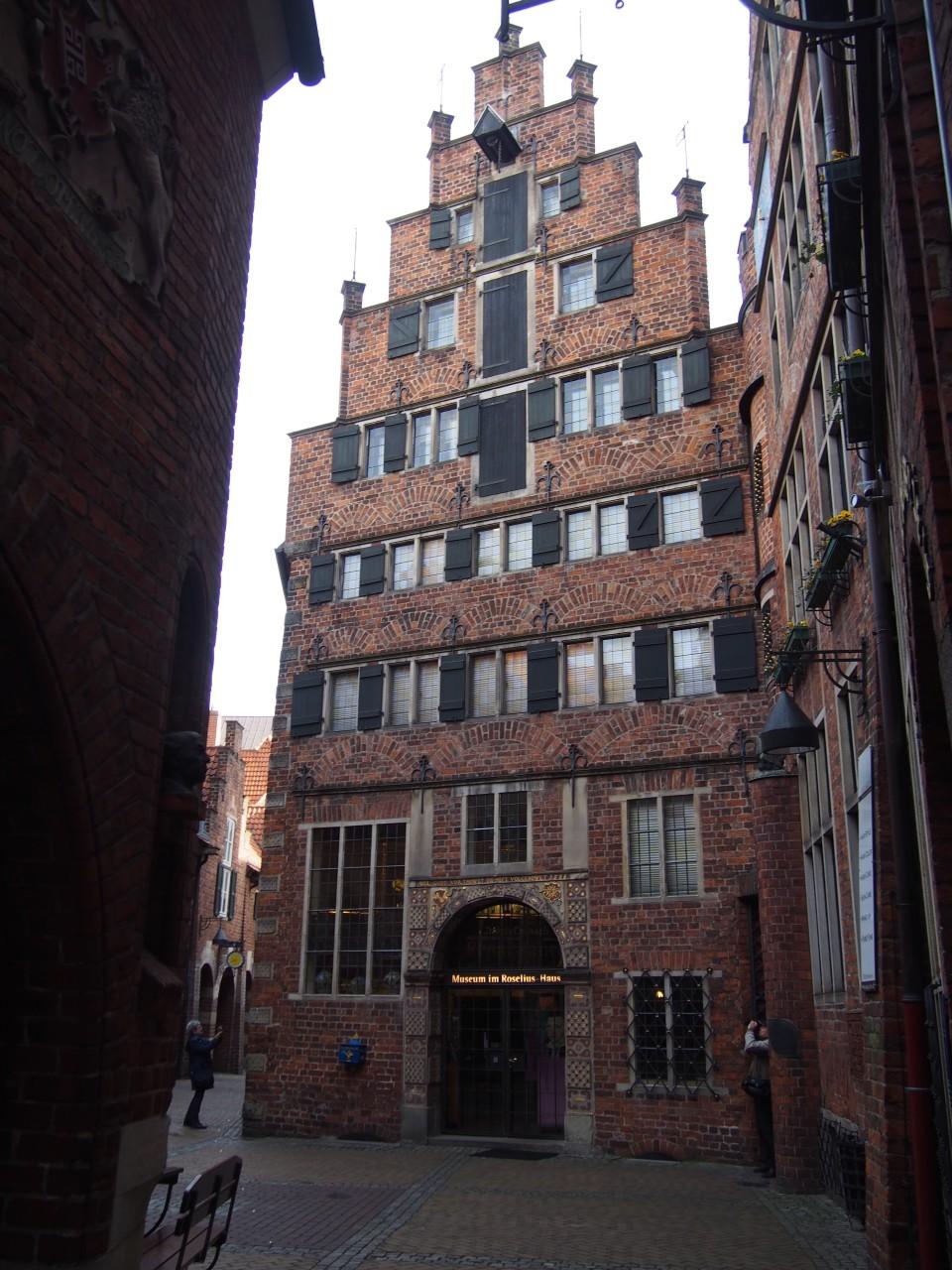 alte Häuser auf der Böttcherstraße, Bremen