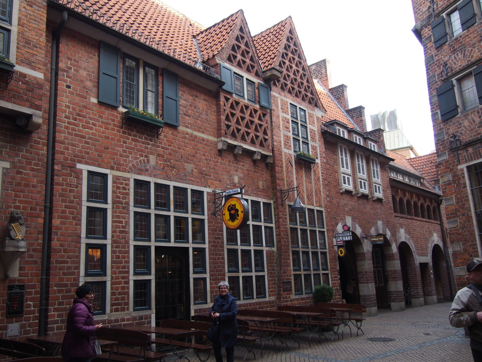 Architektur in der Böttcherstraße, Bremen
