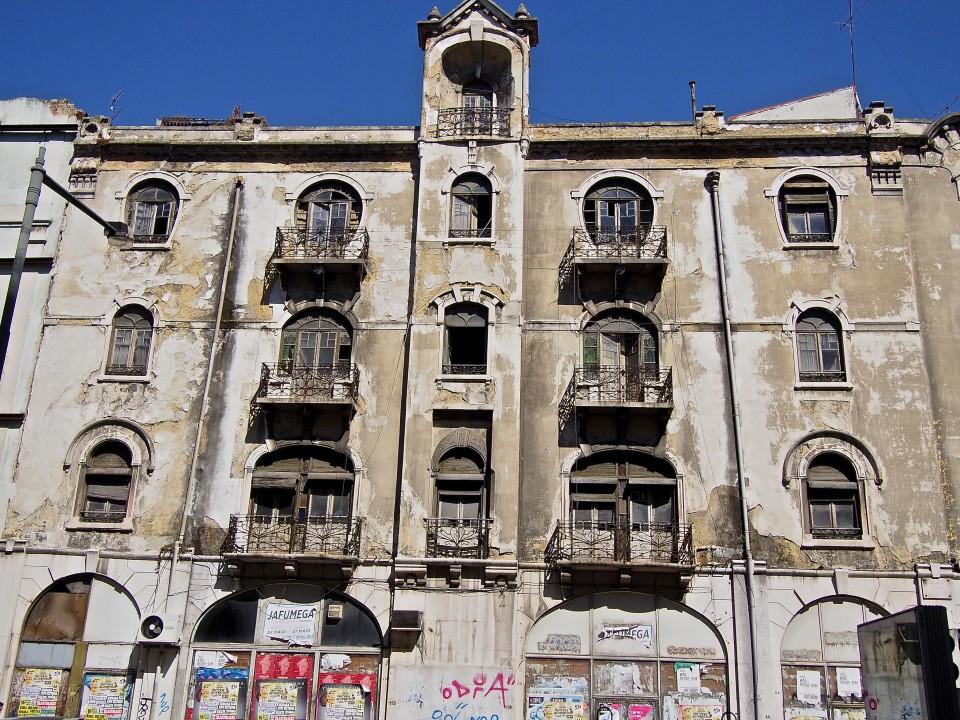 Lissabon-Fassaden