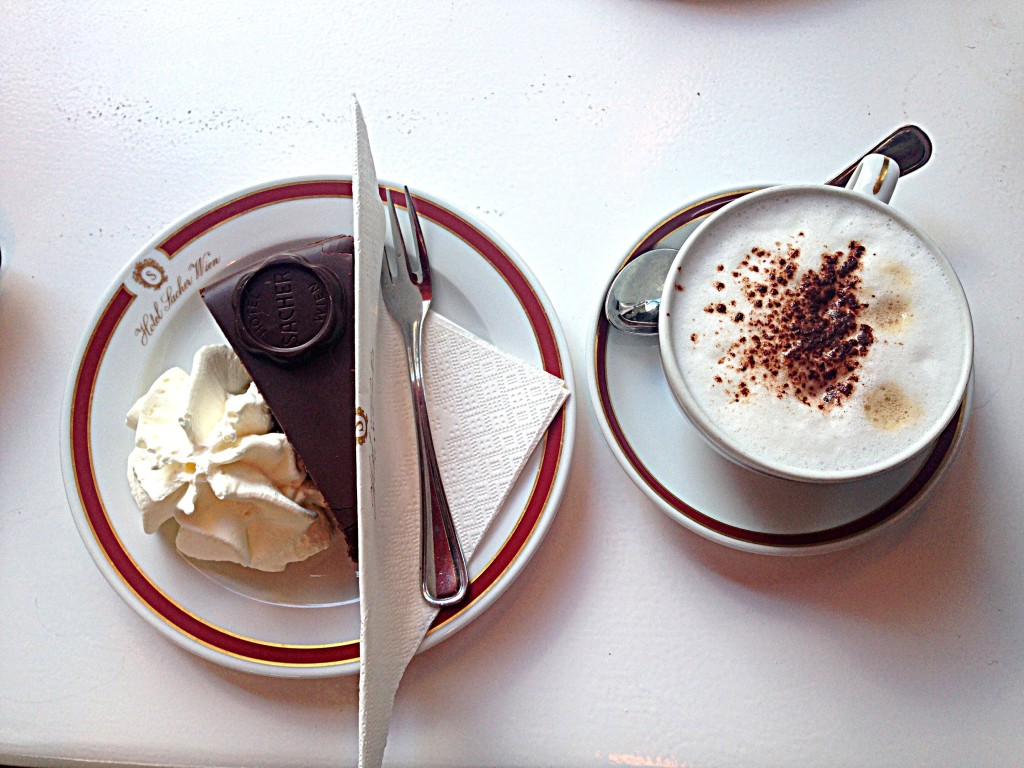 Sachertorte in Wien