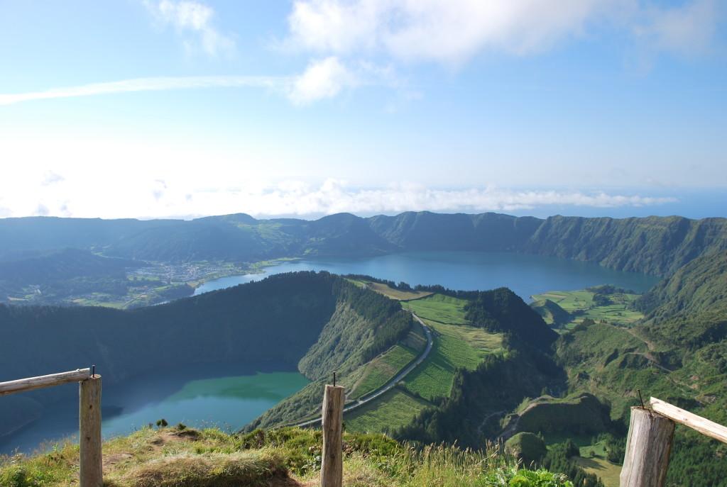 Azoren-Aussicht