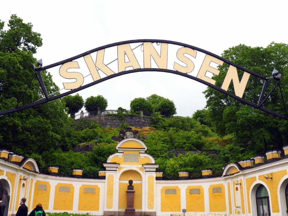 Schweden-Mittsommer-Stockholm-Skansen