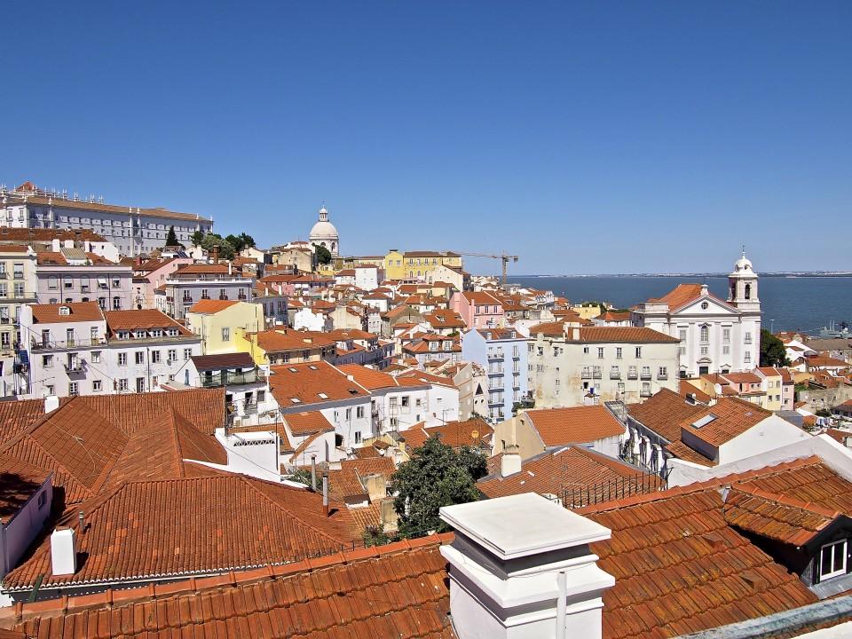 Portugal-Lissabon-Aussicht