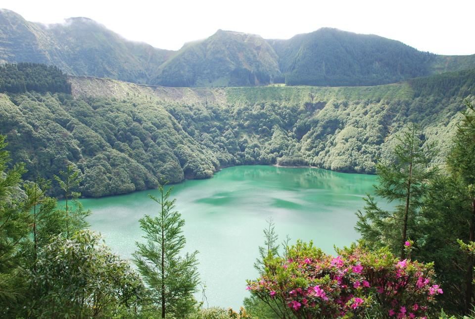 Portugal-Azoren-Aussicht