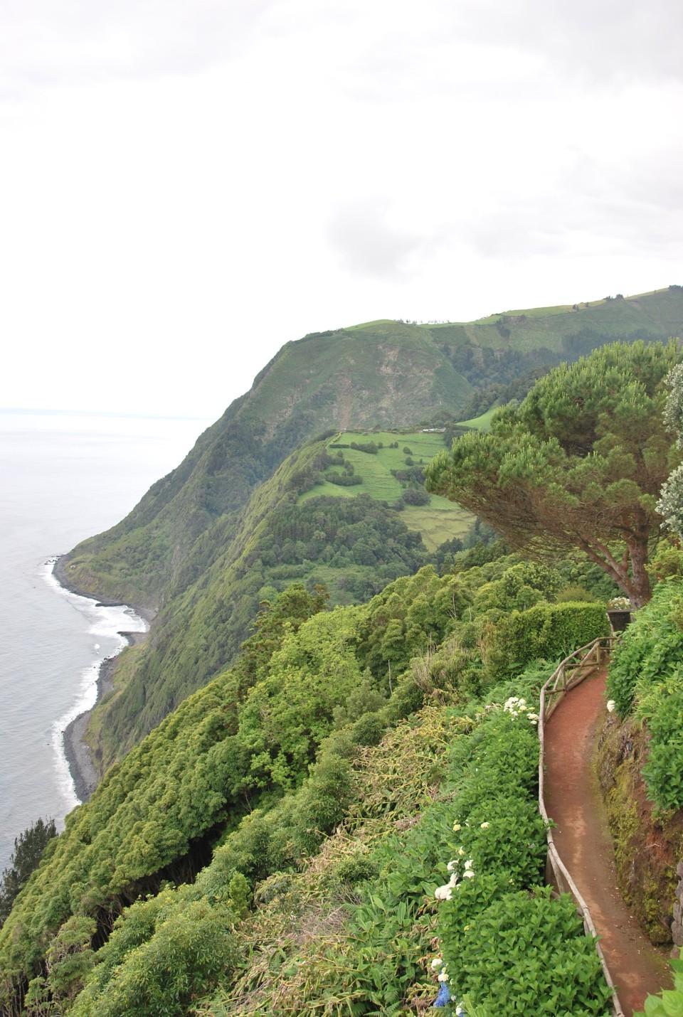 Azoren-Aussicht-Portugal