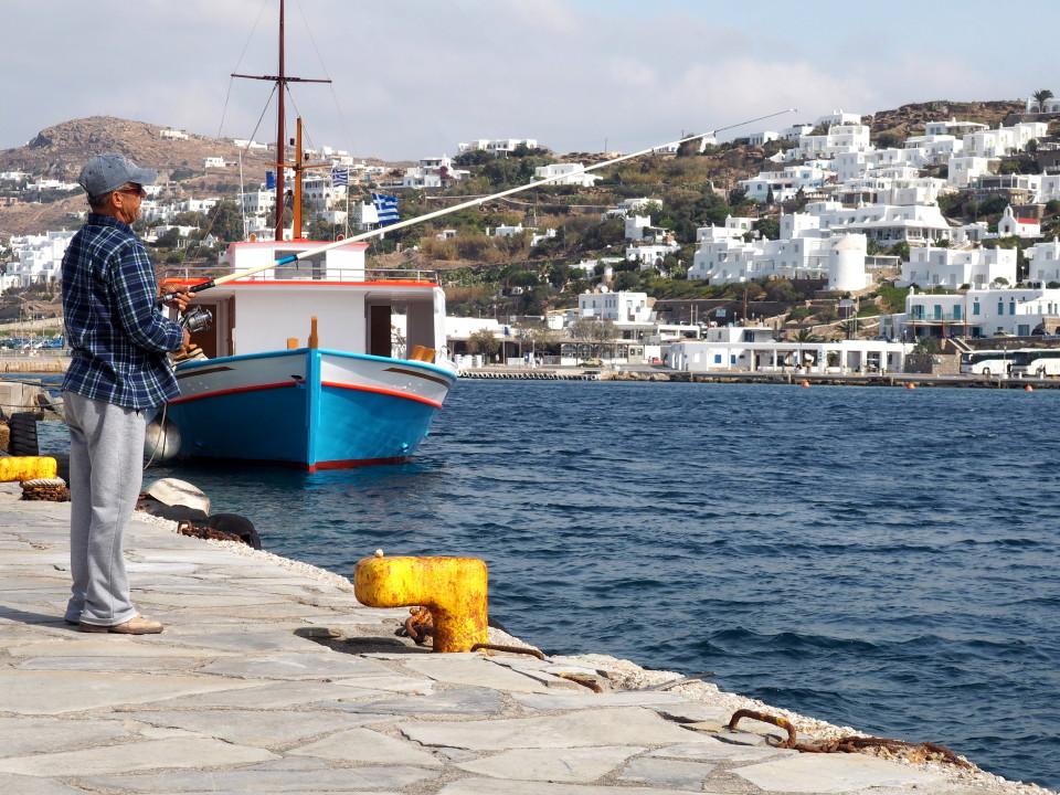 Mykonos-Altstadt-Chora-Hafen