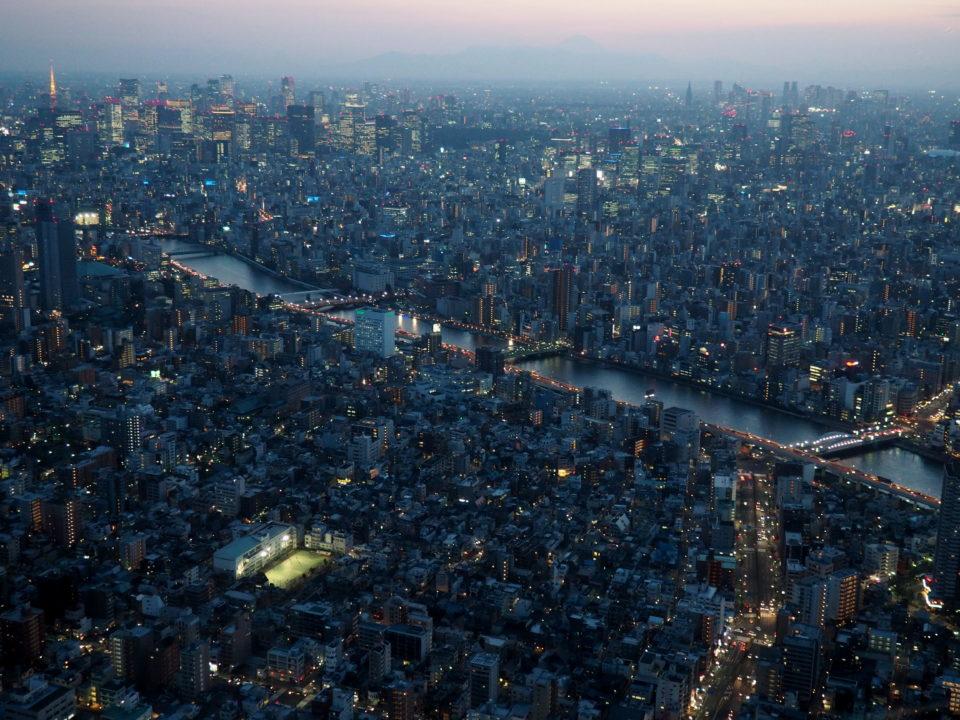 Japan-Tokio-Aussichten