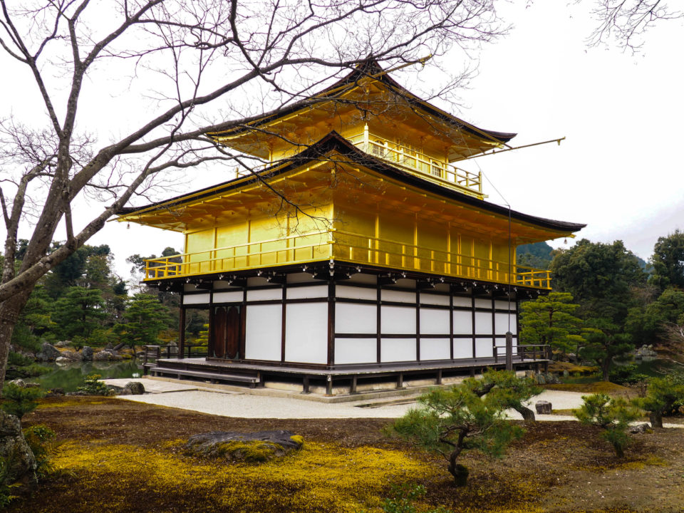 Japan-Kyoto-Goldener-Tempel