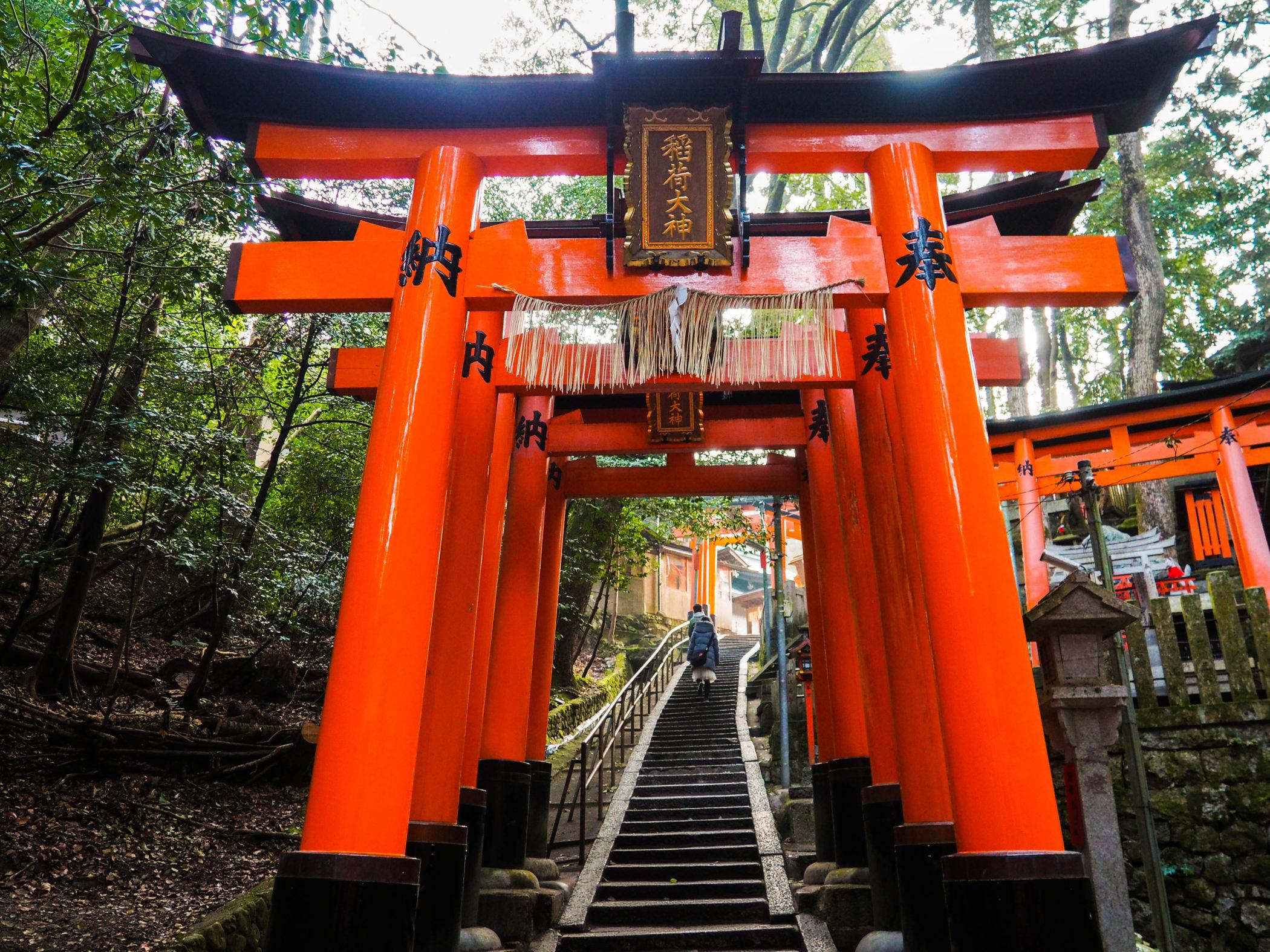 Japan-Kyoto-Fushimi-Inari-Tori-Gates