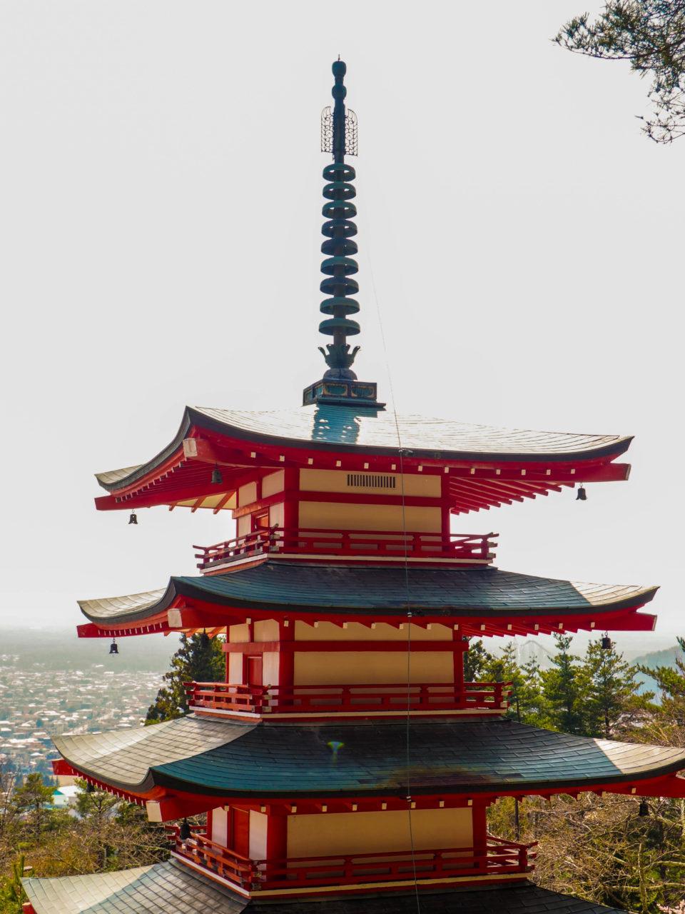 Japan-Mount-Fuji-Pagode