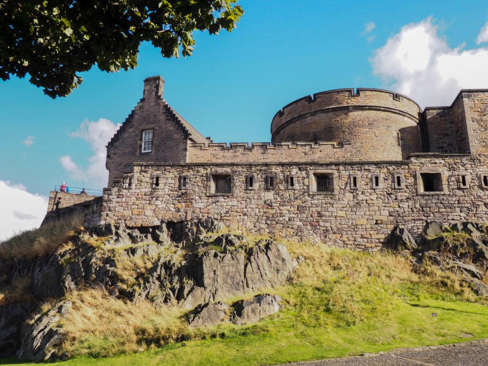 Schottland-Edinburgh-Castle