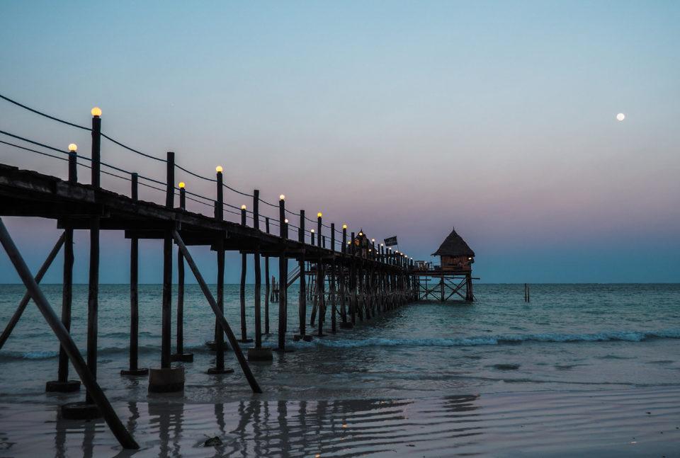 Tansania-Sansibar-Sonnenuntergang