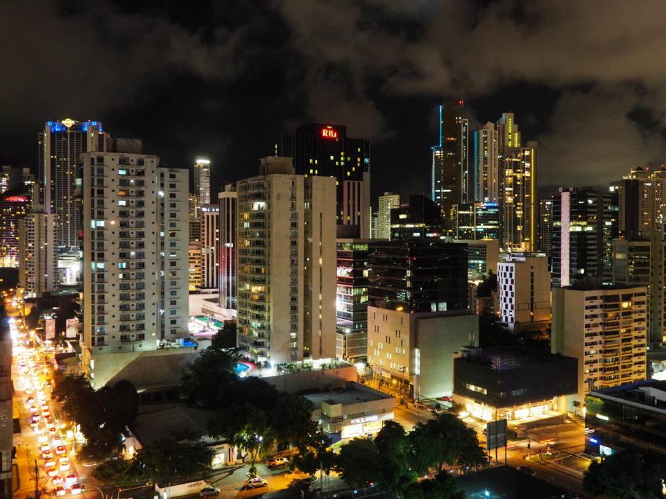 Panama-City-Aussicht-Nacht