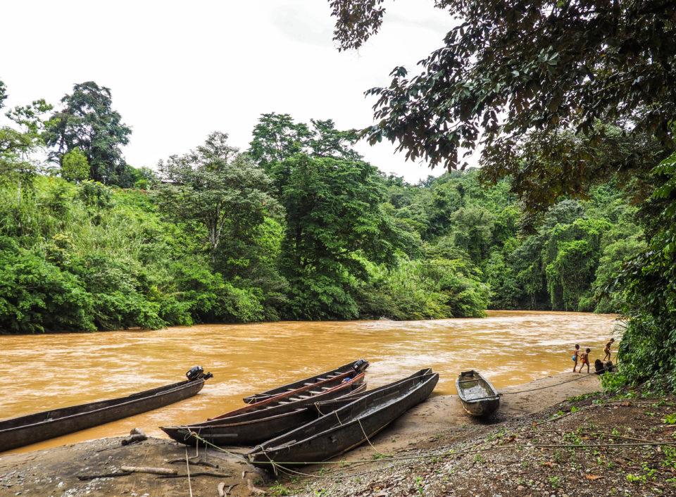 Panama-Indianer-Embera