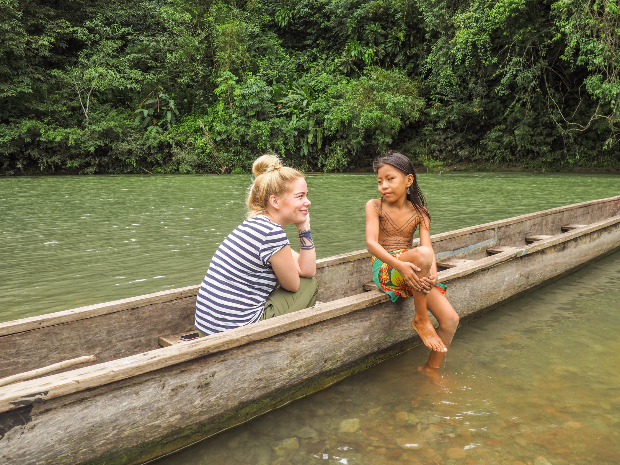 Panama-Embera-Indianer-Anna