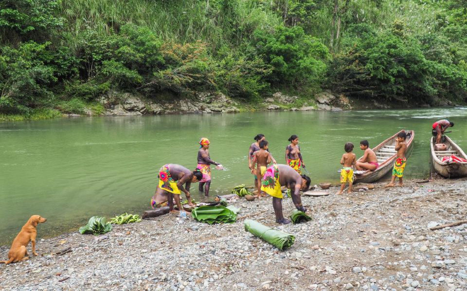 Panama-Embera-Indianer