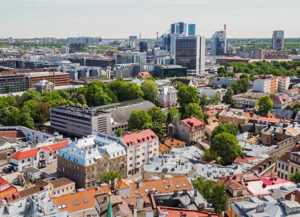 Estland-Tallinn-Aussicht