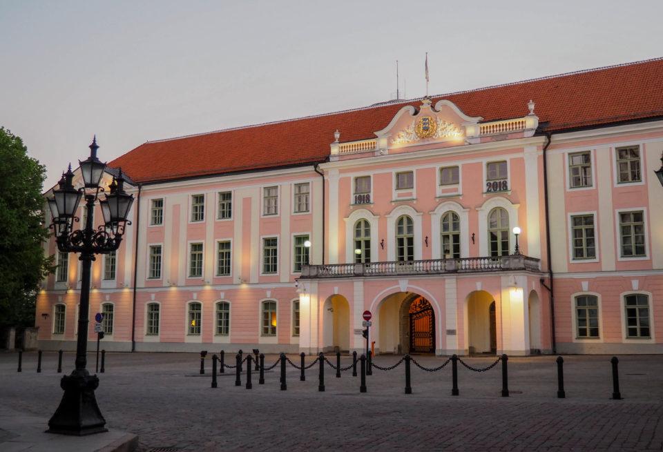 Estland-Tallinn-Domberg-Parlament