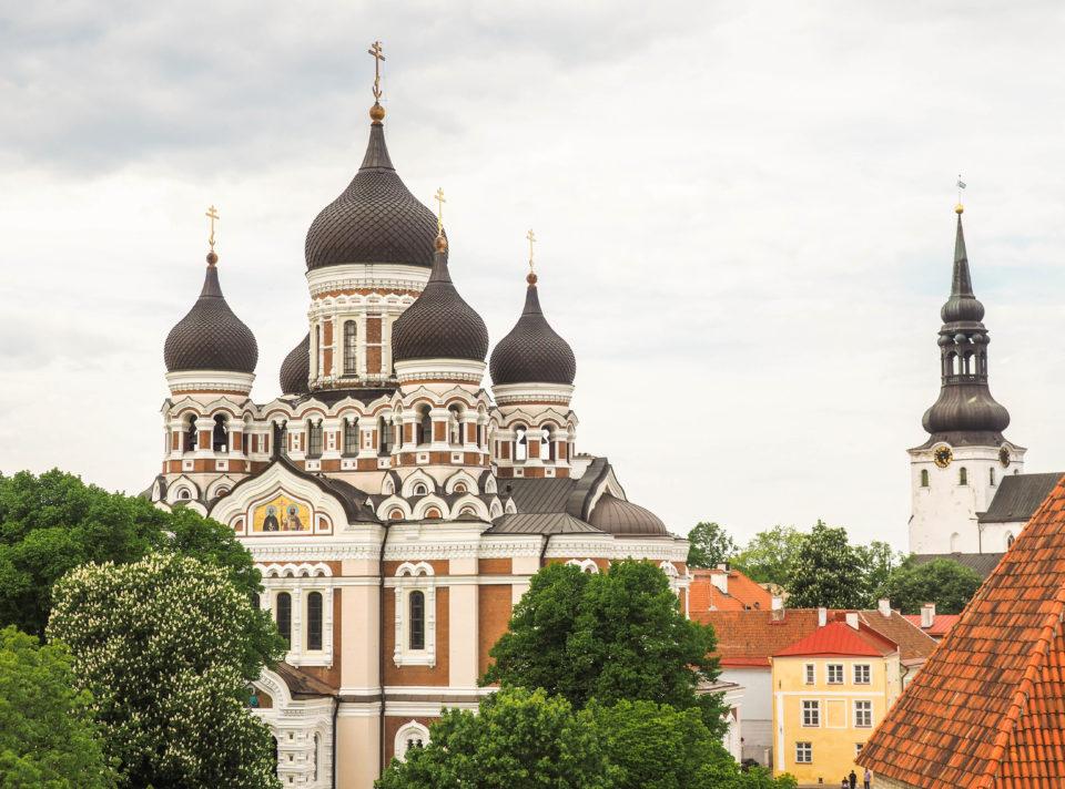 Estland-Tallinn-Alexander-Nevsky-Kathedrale