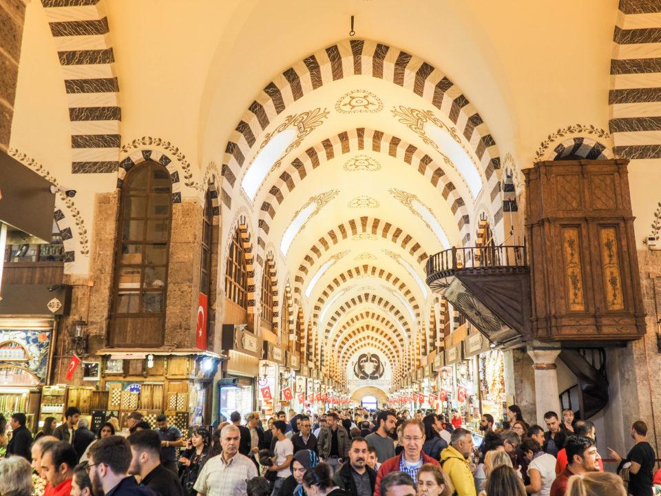 Tuerkei-Istanbul-Ägyptischer-Basar