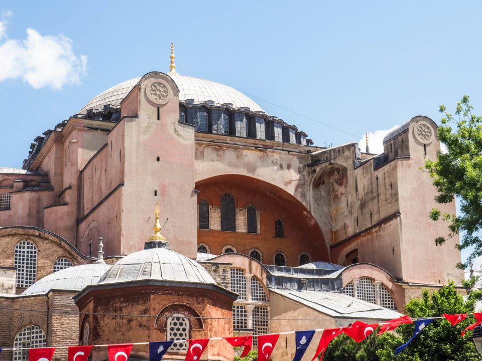 Tuerkei-Istanbul-Hagia-Sophia