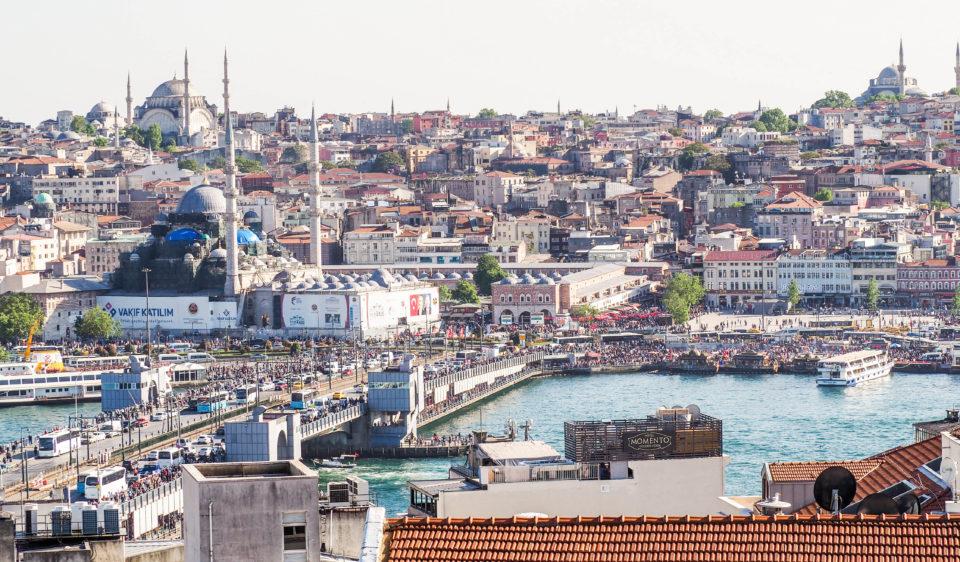 Tuerkei-Istanbul-Galataturm