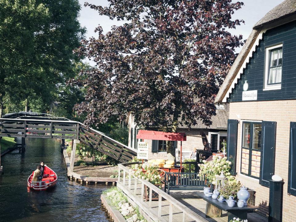 Holland-Niederlande-Giethoorn