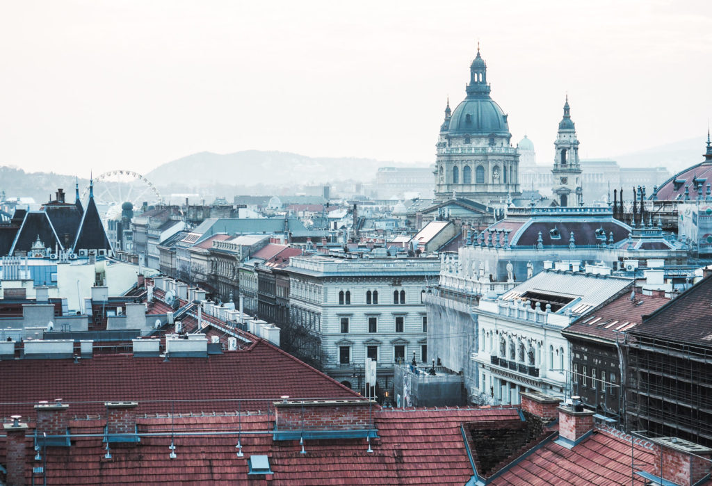 Budapest Aussicht 360 Rooftop