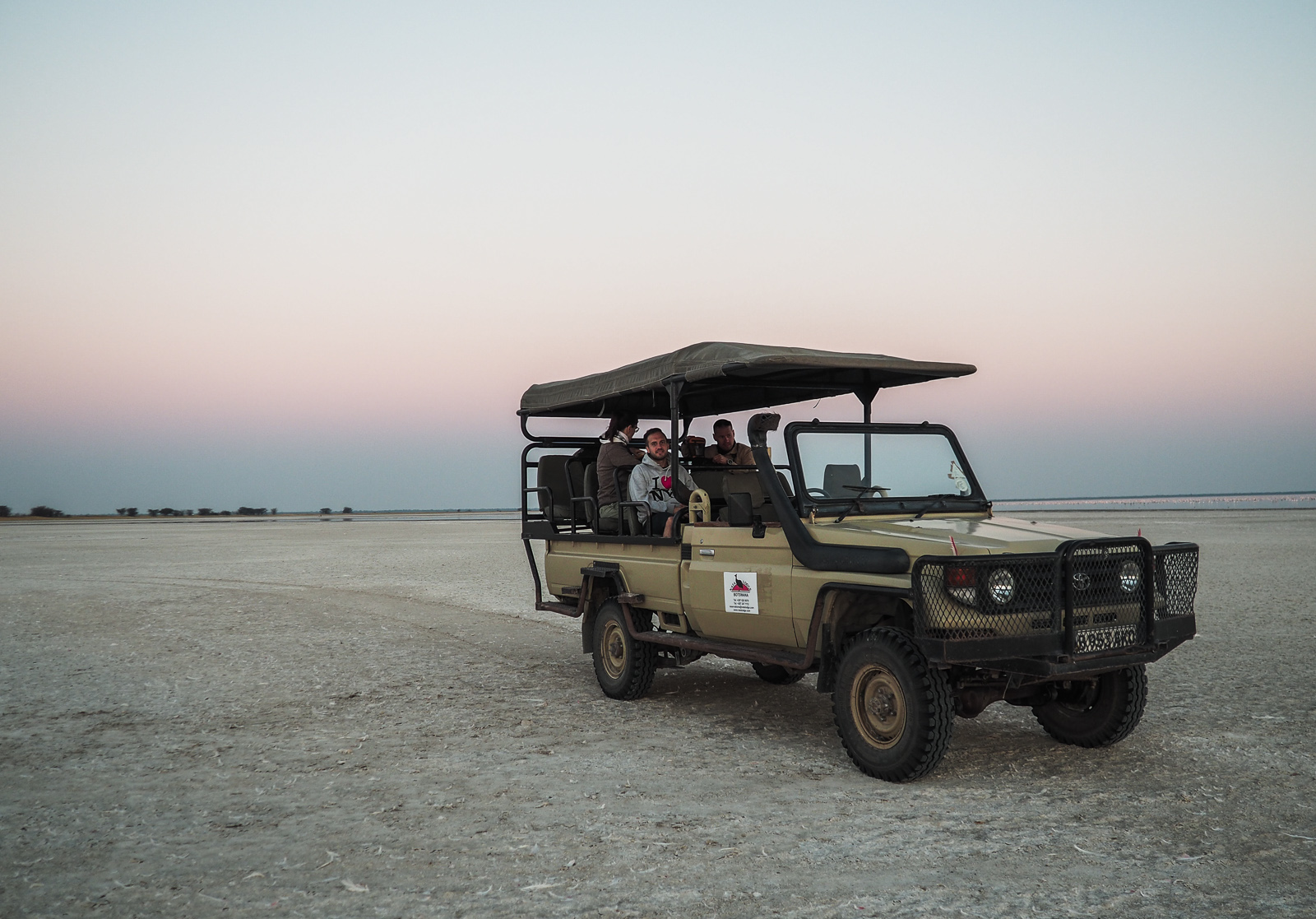 Afrika, Botswana, Nata