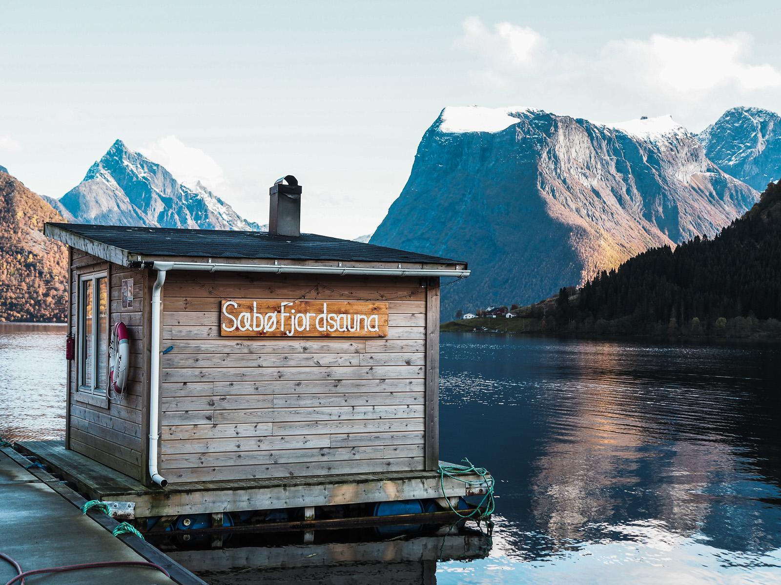 Norwegen, Geirangerfjord, Saebo