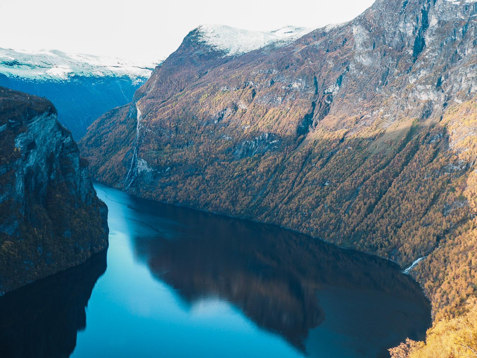 Roadtrip zum Geirangerfjord in Norwegen