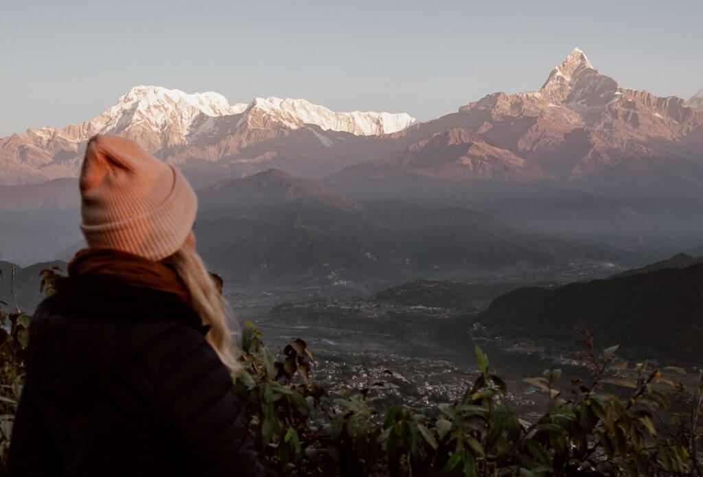 Nepal-Pokhara, Anna