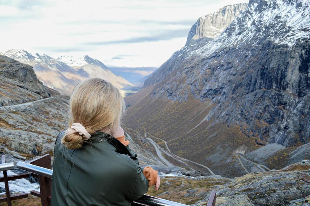Norwegen, Trollstigen, Anna