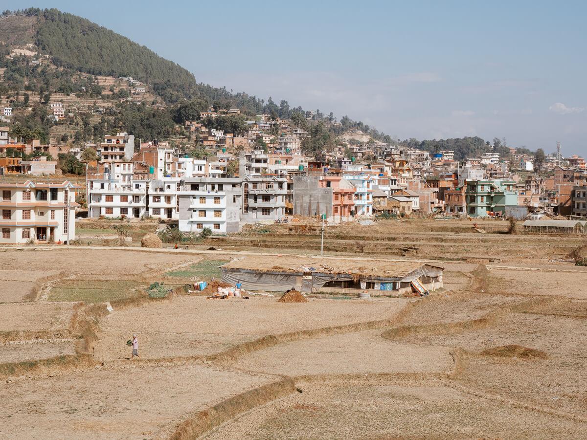 Nepal-Homestay-Reisterrassen