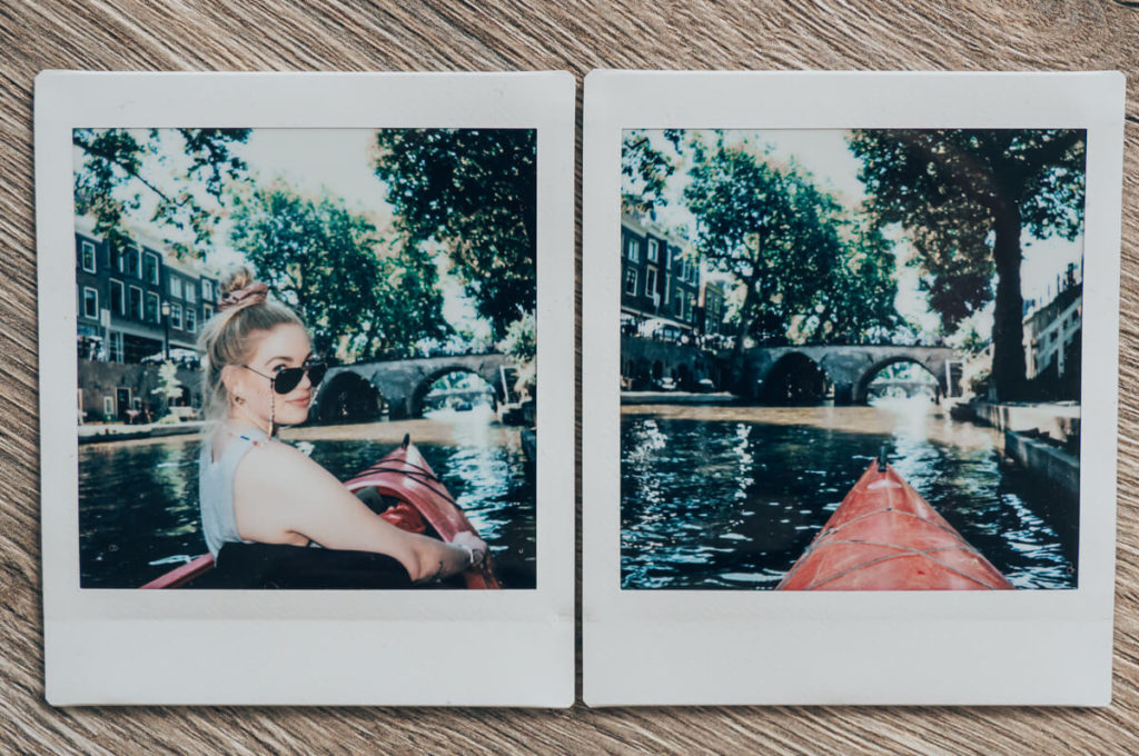 Utrecht mit dem Kanu