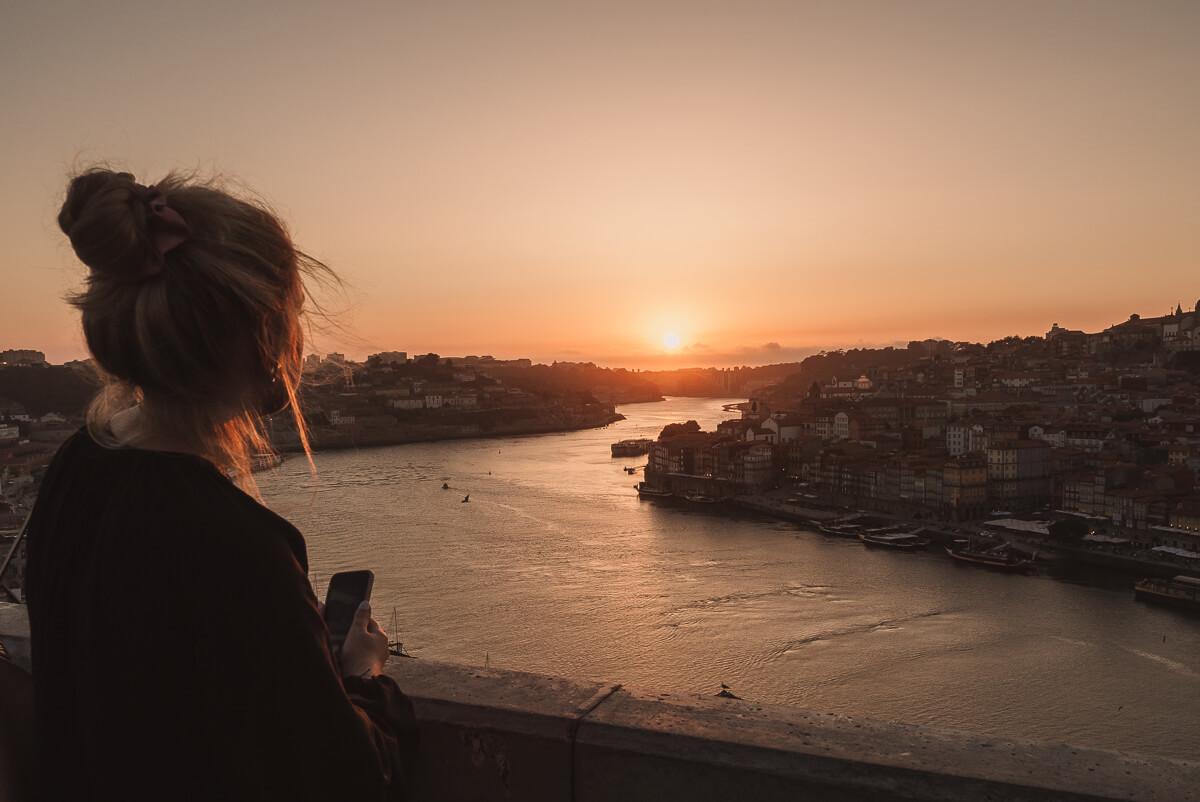 Porto Sonnenuntergang