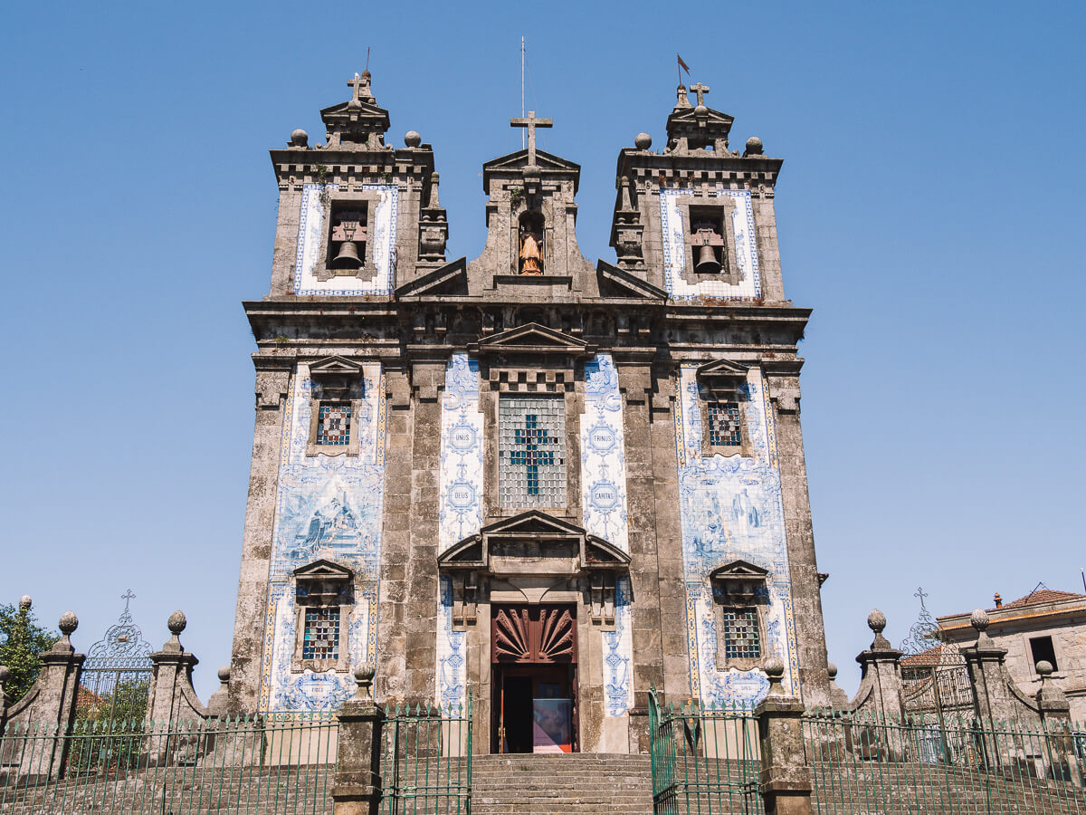 Kirche Santo Ildefonso, Porto