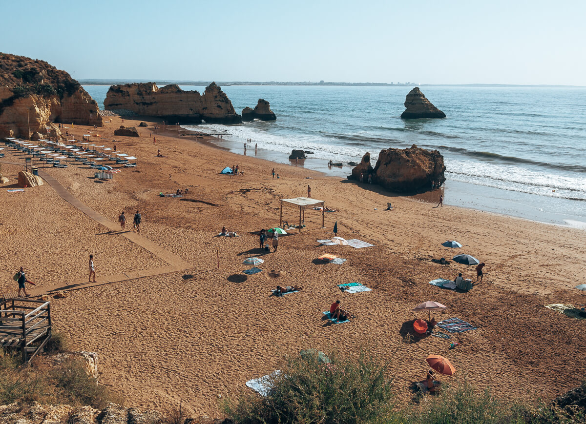 Praia Dona Ana, Algarve