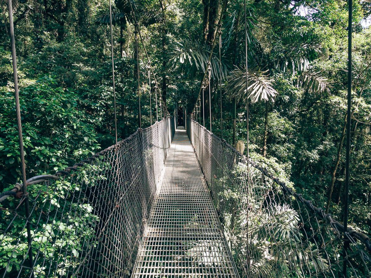 Costa Rica-Hängebrücken