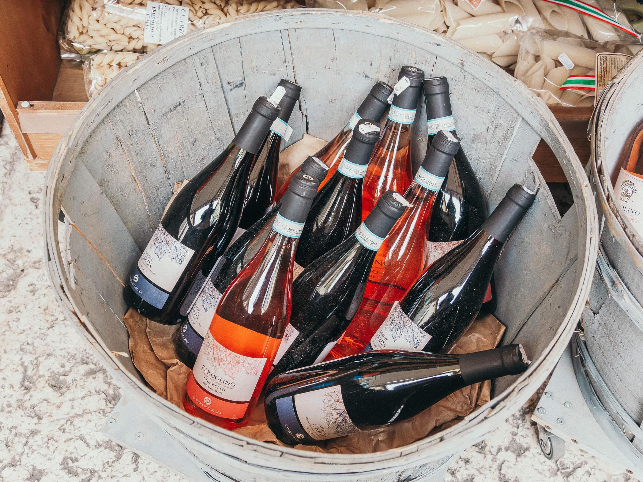 Wein aus Lazise