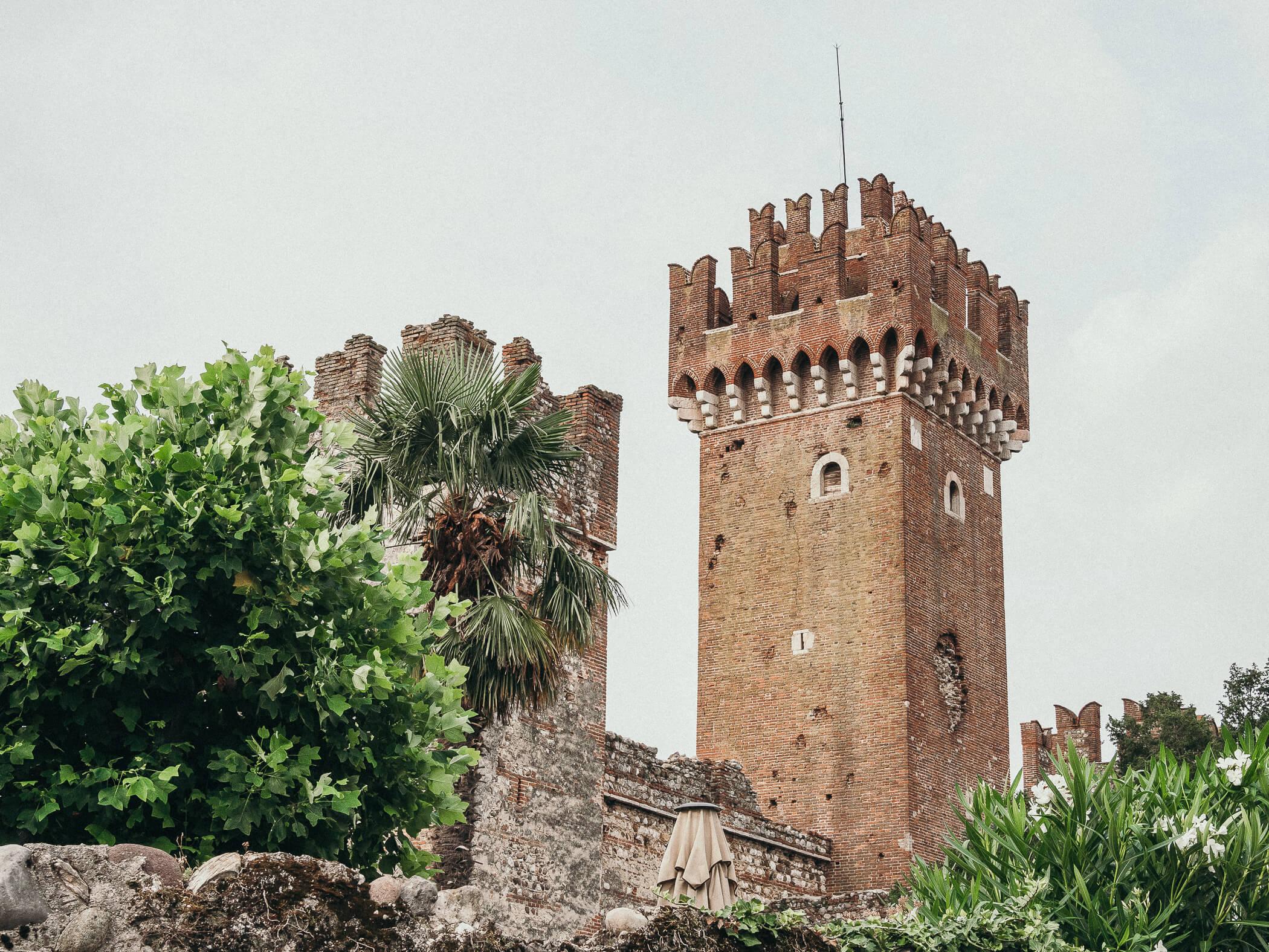 Stadtmauer in Lazise