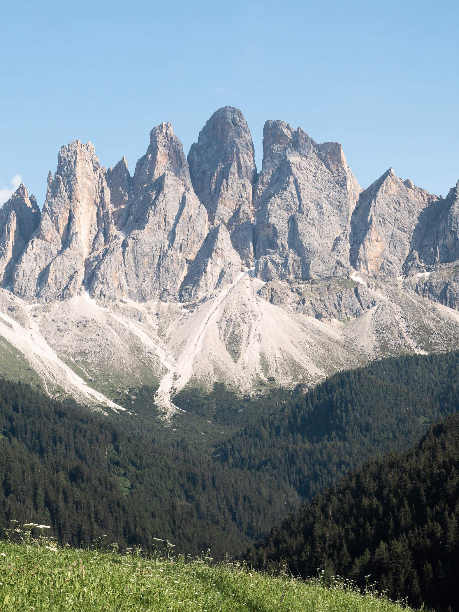 Geislergruppe in Südtirol