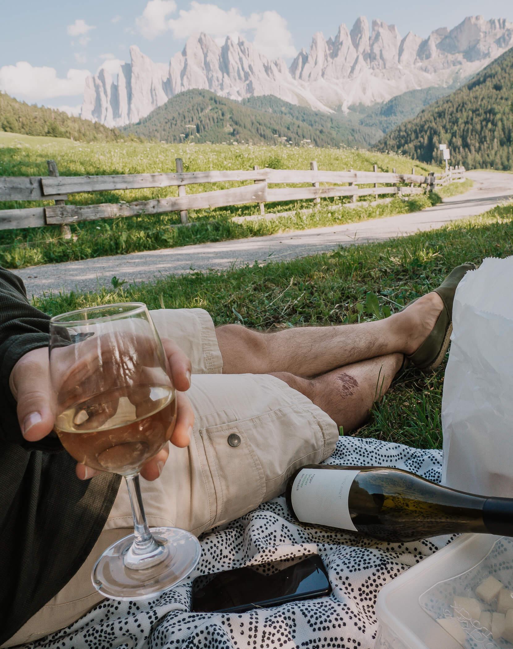 Picknick in Südtirol