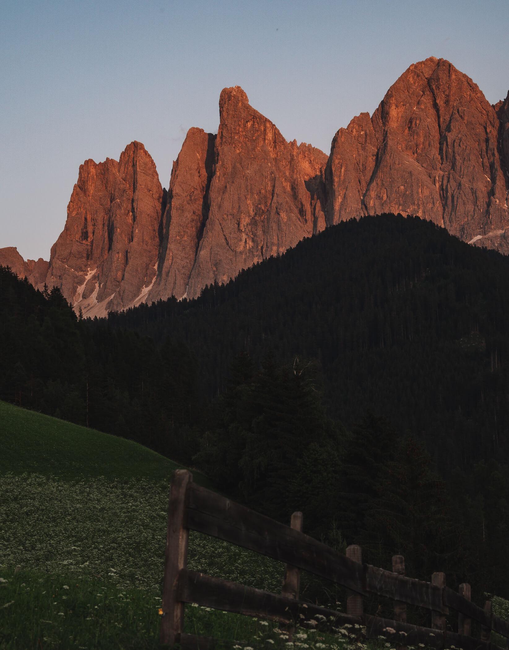 Geislergruppe, Südtirol